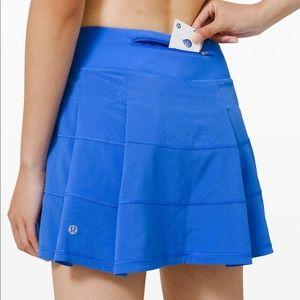 Lululemon Pace Rival Skirt *tall - Wild Bluebell